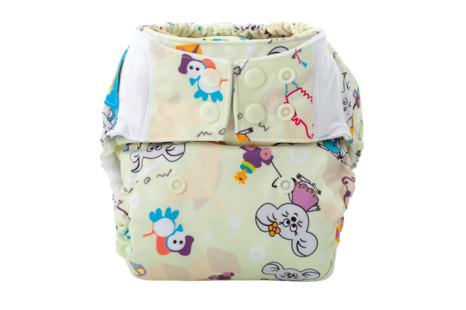 Pocket Diaper SILKY COTTON (ZABAWKI)