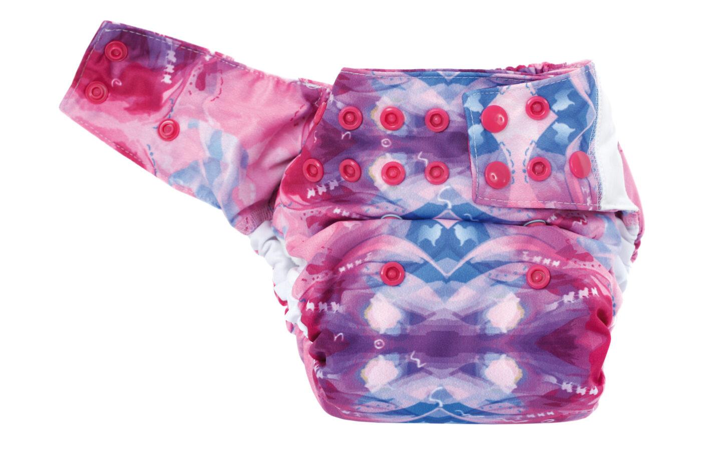 Pocket Diaper SILKY COTTON (AURORA)