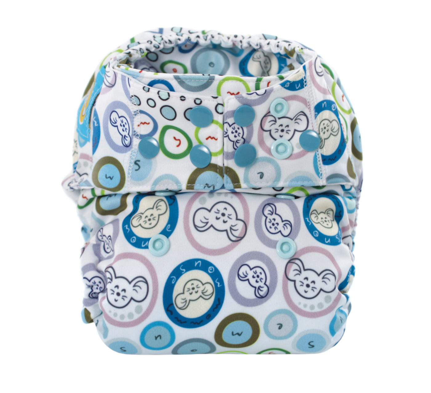AIO All-In-One Diapers (BUBBLE GUM)