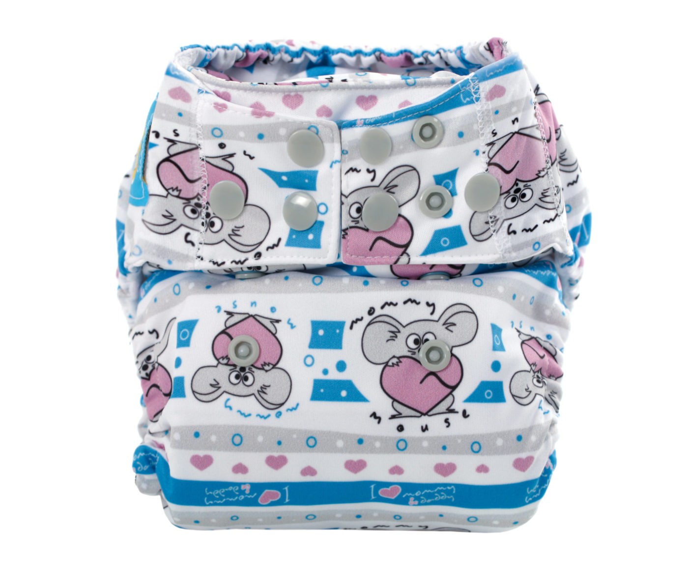 AIO All-In-One Diapers (MOJE SERDUSZKO)