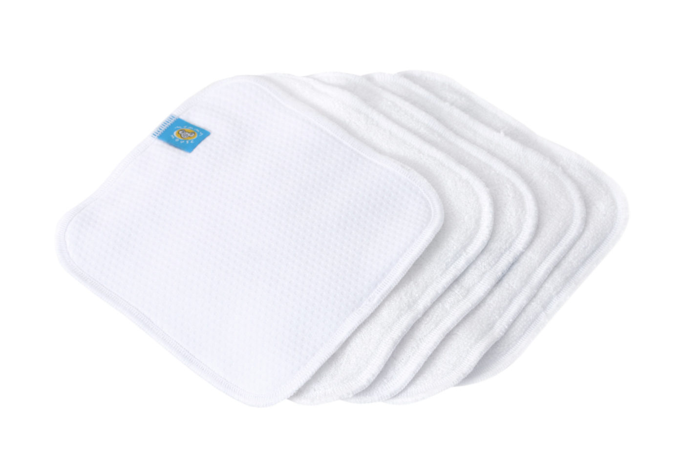 Reusable Wipe Pouch TIMME+ 5pcs Reusable Wipes (COMBINED SET)