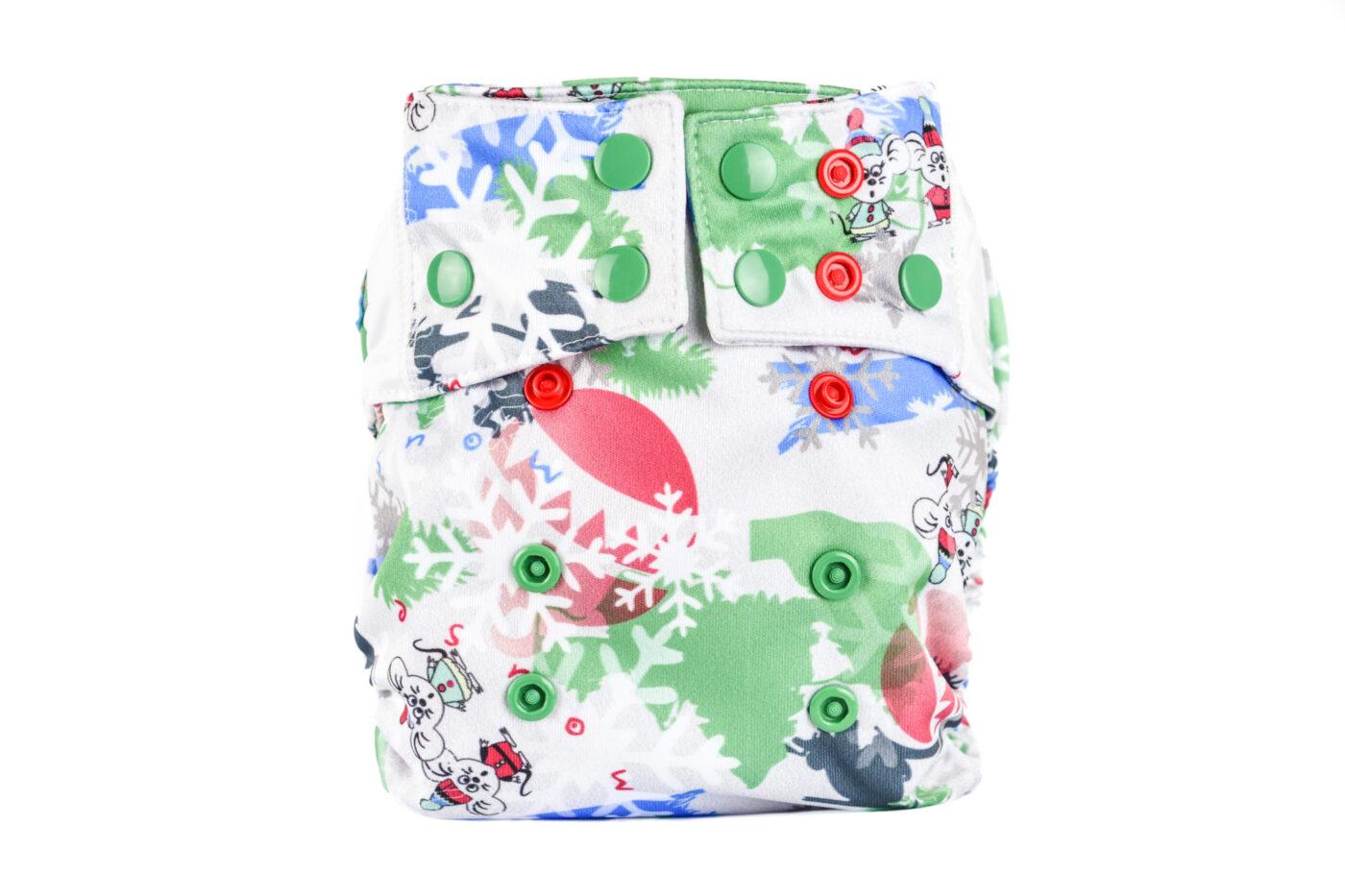 Pocket Diaper (ZIMOWE MYSZKI)