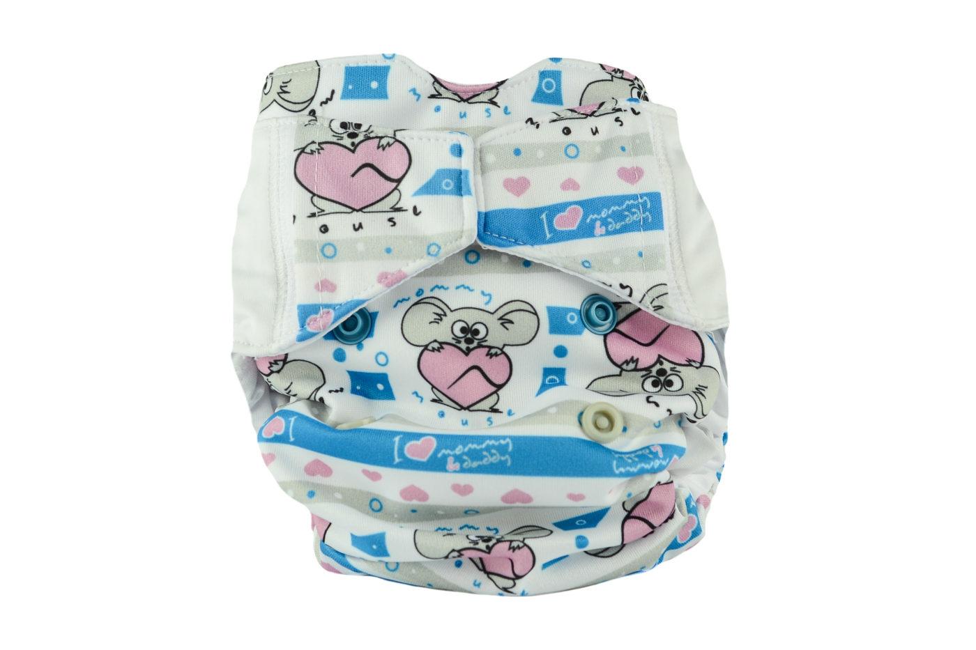 Diaper AIO Newborn (MOJE SERDUSZKO)