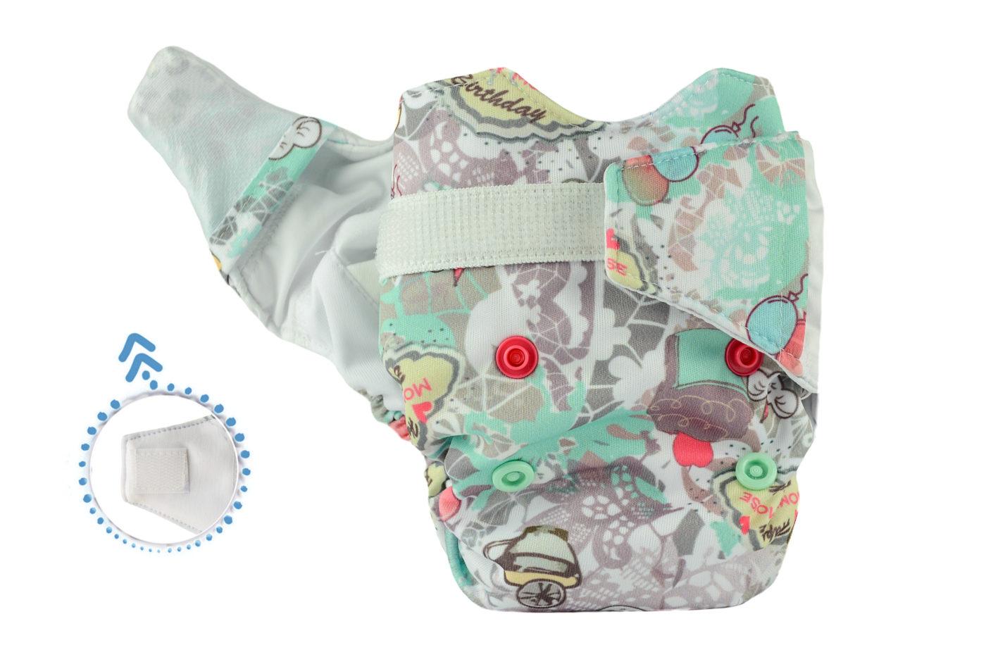 Pieluszka AIO Newborn (BIRTHDAYS)
