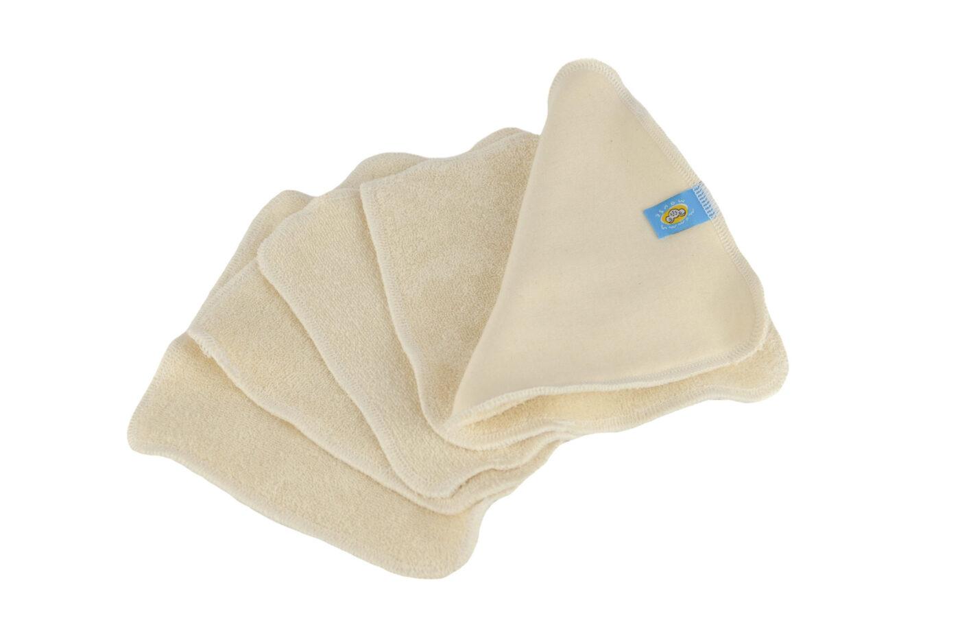 Reusable wipes 5pcs COTTON ORGANIC