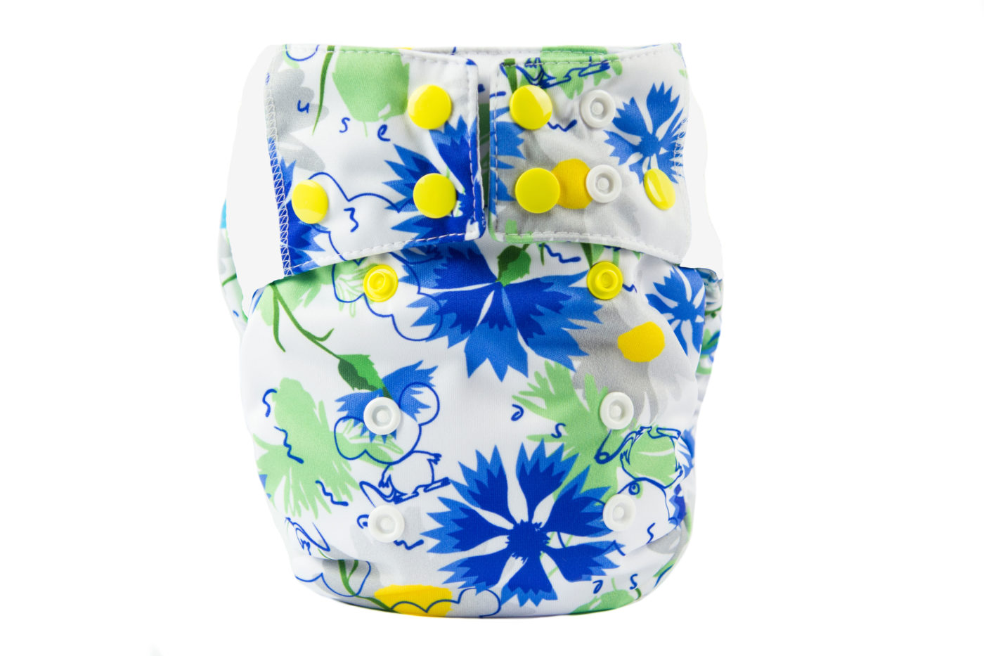 Pocket Diaper SILKY COTTON (BLANCA)