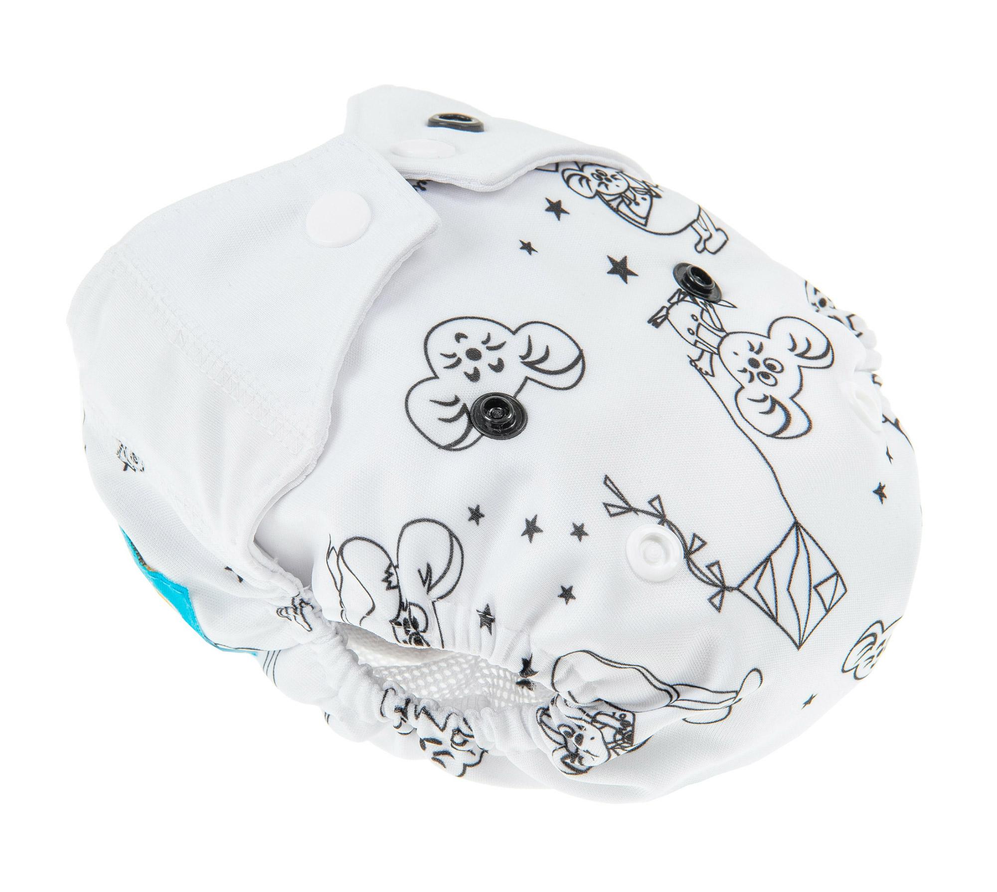Otulacz Newborn (WHITE)