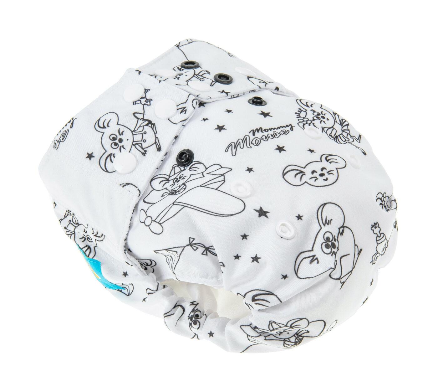 Pocket  Diaper (WHITE)