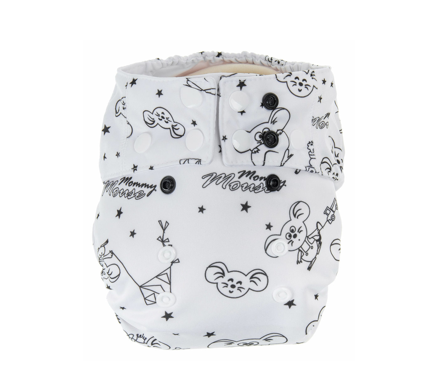 AIO All-In-One Diapers (WHITE)